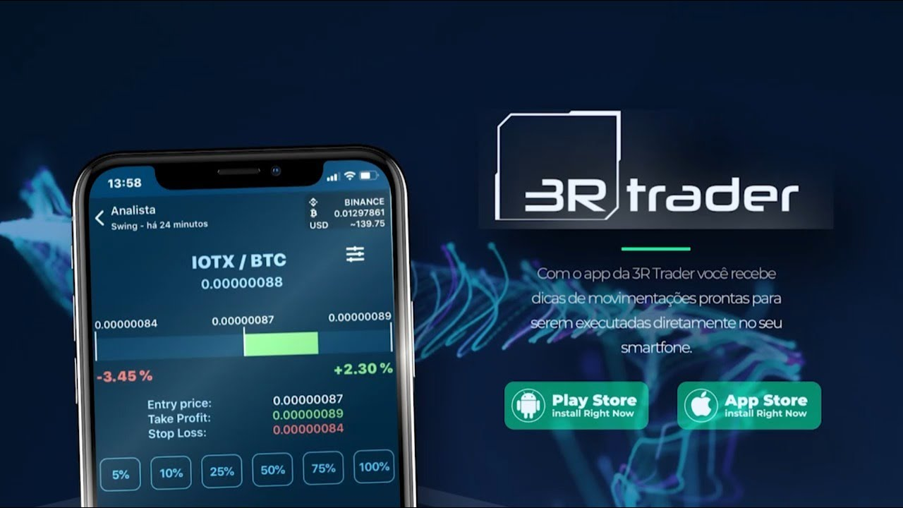 App for Trader of Cryptocurrency