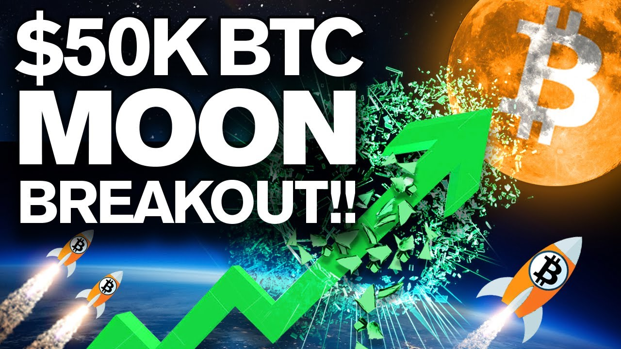 BITCOIN BREAKOUT to $50k by Next WEEK!? YES! Here's Why!!