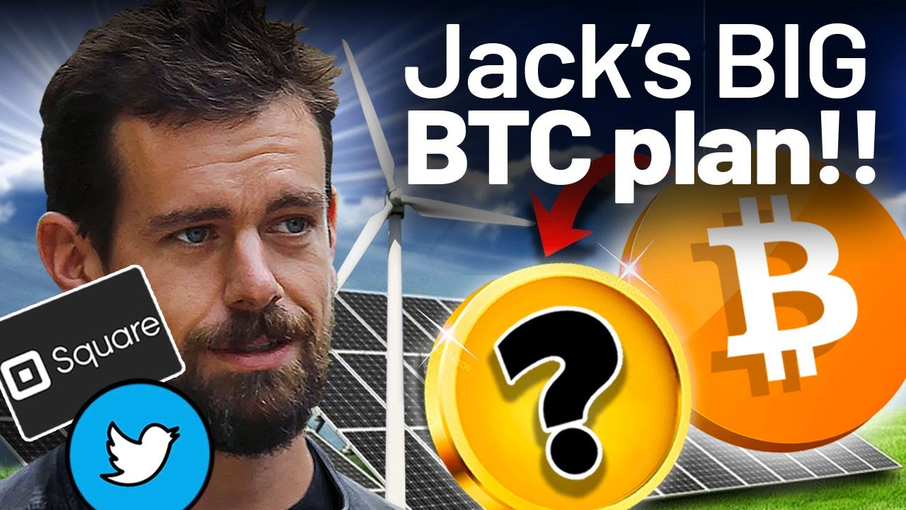 Jack Dorsey's PLAN for BTC Is HUGE!! W/ This ALTCOIN!!