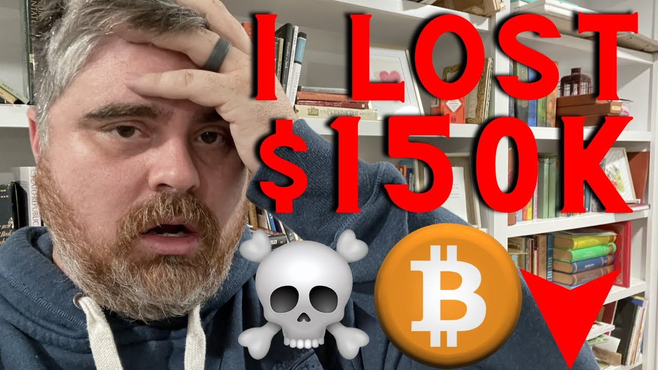 MOST EPIC Bitcoin Dump EVER (How I JUST LOST $150k in BTC)