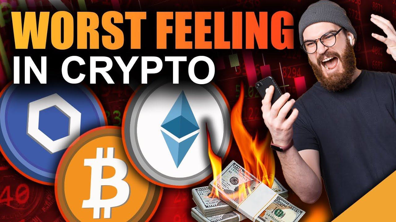 WORST Feeling In Crypto (How To Respond To A Bitcoin Loss)