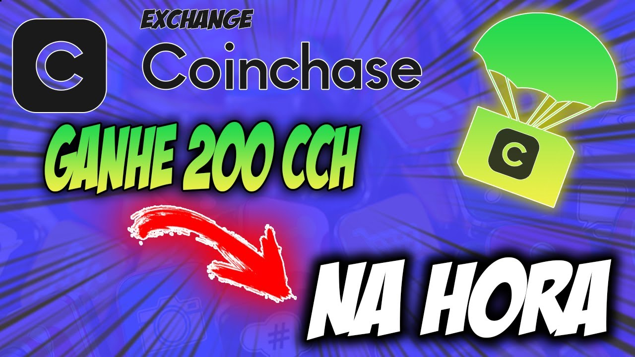 GANHE 200 TOKENS CCH NA HORA – AIRDROP EXCHANGE COINCHASE