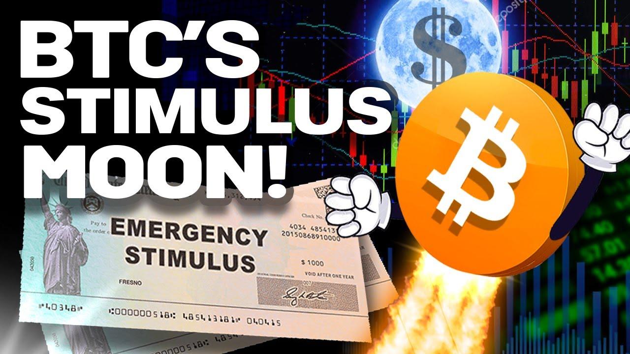 """Here's WHY This """"STIMULUS"""" Will Go Right Into BITCOIN!!"""