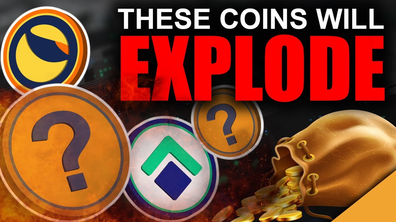Top 4 MOST Explosive Crypto Coins (HUGE Gains 2021)