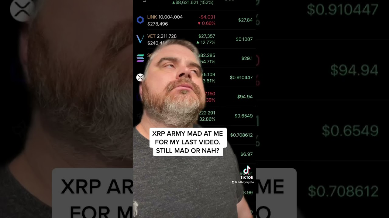 XRP Army, forgive me yet?