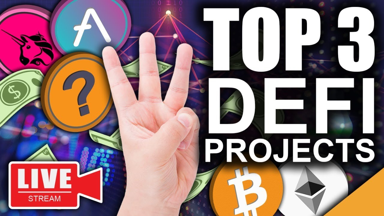 Top 3 Crypto DEFI Projects For June 2021 (Nations Buying Bitcoin)